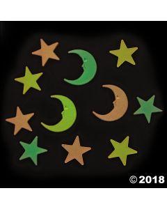 Glow-in-the-dark Moons & Stars