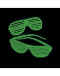 Glow-in-the-Dark Shutter Glasses
