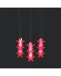 Glow Patriotic Star Necklaces