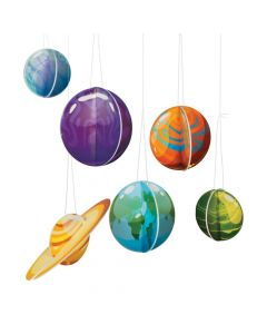 Galaxy 3D Hanging Planets