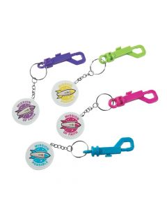 God's Galaxy VBS Backpack Clip Keychains