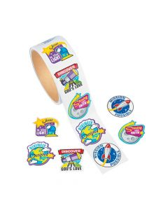 God's Galaxy VBS Stickers