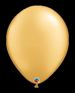 Gold 41cm Latex Balloon