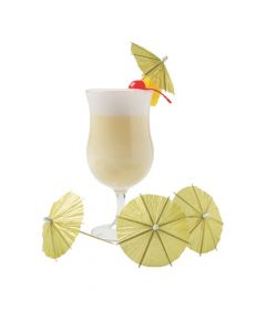 Gold Cocktail Parasols