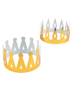 Gold Foil Crowns