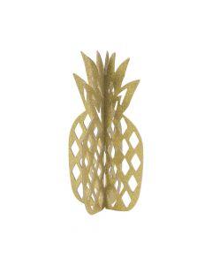 Gold Glitter Pineapple Centerpiece