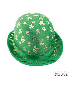 Gold Shamrock Derby Hat