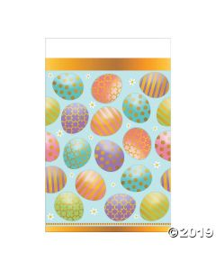 Golden Easter Tablecloth