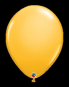 Golden Rod 40cm Round Latex Balloon