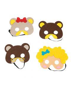 Goldilocks and the Three Bears Masks