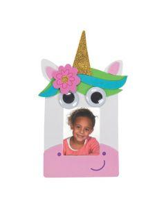 Googly Eyes Unicorn Picture Frame Magnet Craft Kit
