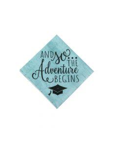 Graduation Adventure Beverage Napkins