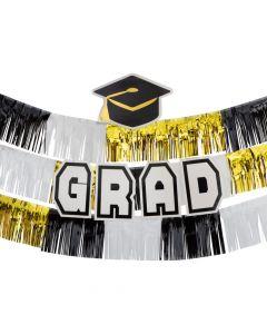 Graduation Fringe Backdrop