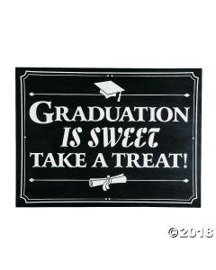 Graduation Is Sweet Sign