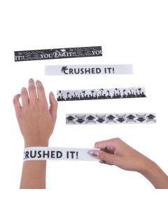 Graduation Slap Bracelets