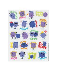 Grape-Scented Stickers