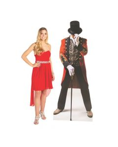 Greatest Circus Ringmaster Cardboard Stand-Up