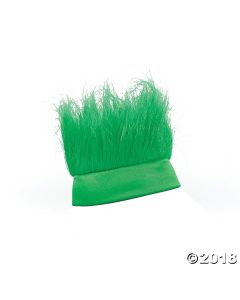 Green Crazy Hair Headband