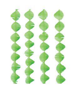 Green Fringe Streamer