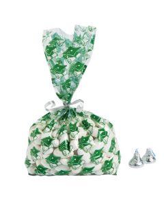 Green Graduation Cellophane Bags