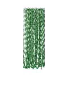 Green Metallic Bead Necklaces