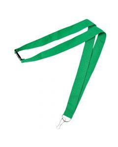 Green Nylon Lanyards