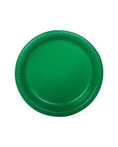 Green Plastic Dinner Plates