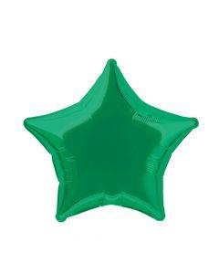 """Green Star 20"""" Mylar Balloon"""