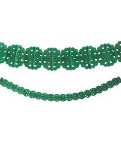 Green Tissue Garland