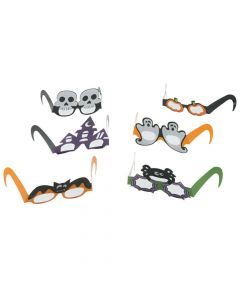 Halloween Party Paper Glasses