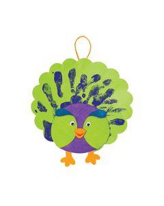 Handprint Peacocks Craft Kit