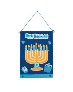 Hanukkah Banner Craft Kit