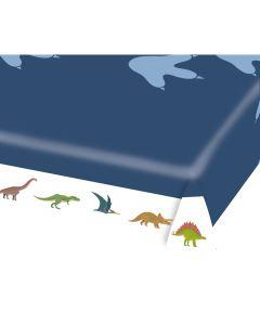 Happy Dinosaur Paper Tablecloth