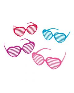 Heart-Shaped Shutter Sunglasses