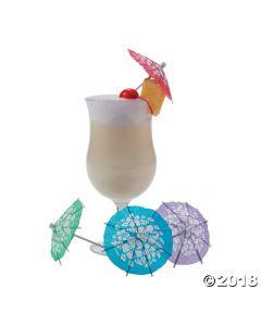 Hibiscus Cocktail Parasols