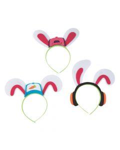 Hip-Hop Bunny Headbands