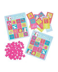 Holiday Unicorn Bingo Game