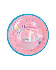 Hooray It's Your Birthday Paper Dinner Plates