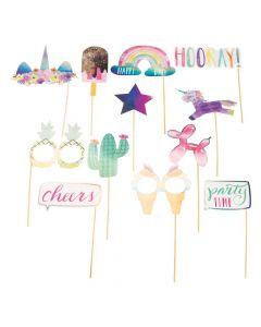 Hooray It's Your Birthday Photo Stick Props