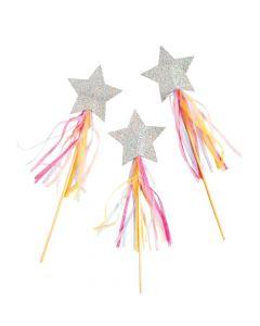 Hooray Pastel Star Wands