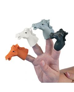 Horse Finger Puppets