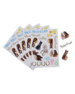 Horse Sticker Sheets