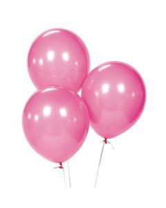 """Hot Pink 11"""" Latex Balloons"""