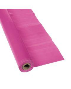 Hot Pink Plastic Tablecloth Roll