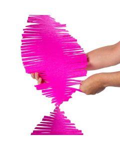 Hot Pink XL Fringe Streamer