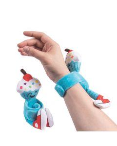 Hugging Plush Birthday Cupcake Bracelets