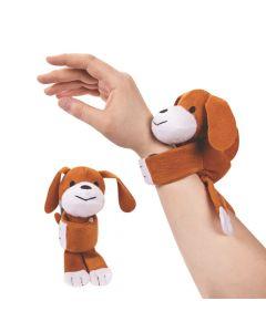 Hugging Stuffed Dog Bracelets