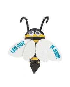 I Bee-lieve in Jesus Bug Clicker Craft Kit