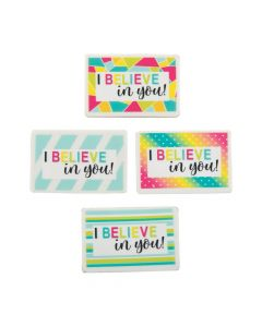 I Believe in You Erasers