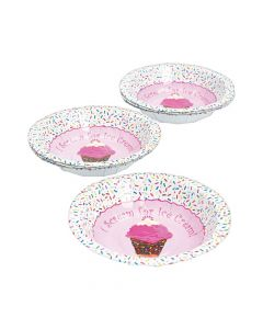 I Scream for Ice Cream Dessert Paper Bowls